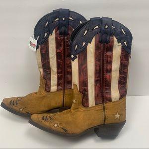 LAREDO AMERICAN FLAG COWBOY BOOTS